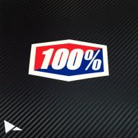 100% goggle stiker (#S0084)