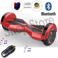 Alat Olahraga Smart Balance Wheel 8 inch Bluetooth Music |Scooter