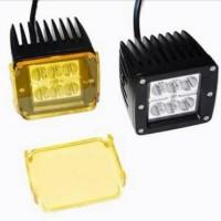 Lampu Sorot LED CREE Work Light Cover Kuning 18W 18Watt 18 Watt