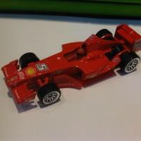 Hot Wheels Ferrari F1 GP-2006