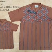 Baju Muslim Couple Ayah Dan Anak, Produk Tasikmalaya