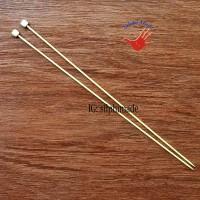 SPN Bambu 2.00 mm 23 cm (Jarum Rajut, Breien, Knitting Needle)