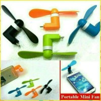 Kipas Angin Mini Otg Micro For Hp / Fan Smart Phone / Powerbank