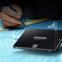 Samsung Solid State Drive SSD 850 EVO 2.5 Inch SATA 250GB Turbo Wtrite