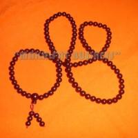 Japamala Tasbih Buddha KELAPA ARAB warna hitam 108 biji 8 mm