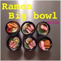 Miniatur Magnet/Tempelan kulkas Ramen Big Bowl