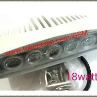 Lampu sorot LED bar 18watt tembak offroad motor mobil