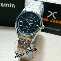Jam Tangan Wanita Jonas Jasmine Original JJ-2054L Silver Black