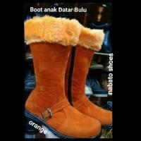 Sepatu Boot Anak Datar /-Nabato shoes