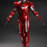 Hot Toys Iron Man Silver Centurion (Mark XXXIII) MK3 Action Figure 1/6