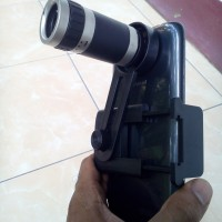 Lensa kamera Lensa detektif Teropong kamera Lensa intai