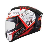 Helm INK CL Max White Black Orange FullFace Mac Full