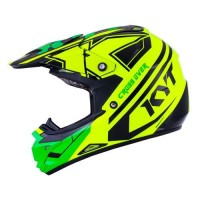 harga Helm KYT Trail Motocross Cross Over K-Racing Green Fluo Super Tokopedia.com