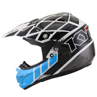 harga Helm Kyt Trail Motocross Cross Over K-racing Blue White Fluo Tokopedia.com