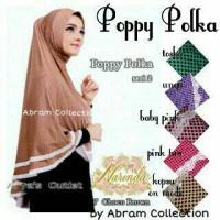 Jilbab Poppy Polka Jersey
