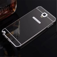 CASING SAMSUNG GALAXY NOTE 3 NEO SLIM MIRROR CASE COVER SOFTCASE