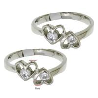 Cincin Titanium CSP.4 (Single, Cewek/Wanita/Perempuan)