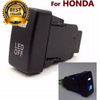 DRL Fog Lampu Switch Panel HONDA Civic Jazz HRV Accord Tombol LED