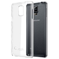 Casing Imak Crystal 2 for Samsung Galaxy Note 4 Ultra Thin Hard Case