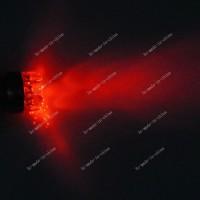 T20 7440 LED Red Lampu Senja Sein Rem Mundur Merah 9 TITIK MATA