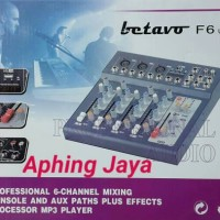 Mixer Console BETAVO F-6 (6 channel) Professional Audio