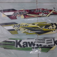 harga Striping/Sticker Motor Ninja 250 RR 2014 Mono Tokopedia.com
