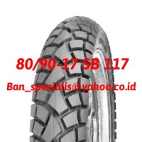 Ban motor Tubeless Swallow 80/90-17 SB 117