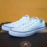 Jual sepatu Converse allstar OX white grade original Murah