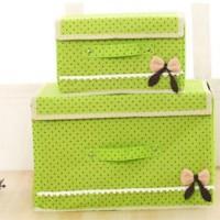 2 In 1 Multifunction Box Storage Box 555 Warna Warna Green