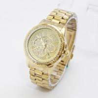 Jam Tangan Wanita / Cewe Gc E0127 Full Gold
