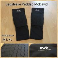 Legsleeve Padded McDavid Hitam (Leg Sleeve Pad - Knee Padded)