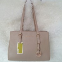 Michael Kors MK Jetset East West (Cream)