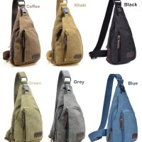 Jual Tas selempang pria keren / sling bag / shoulder bag Murah