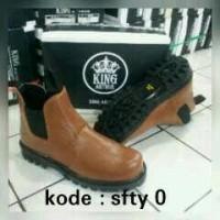 harga Sepatu Boot Sefty King Elastis / Nabato Shoes Tokopedia.com