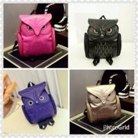 harga Tas Import Wanita Fashion Korea Ransel Owl Cute Tokopedia.com