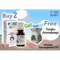 Inhalant decongestant Pure baby/Pelega Flu dan hidung tersumbat