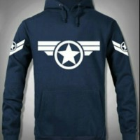 T-SHIRT/SWEATER/JAKET/HOODIE JUMPER CAPTAIN AMERICA STAR HERO.