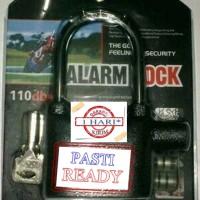 Jual Gembok motor alarm Murah