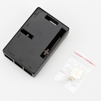 Raspberry Pi Case/Casing Model B+ Plastik ABS Warna Hitam
