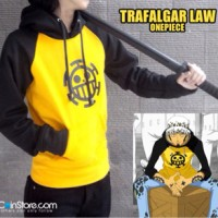 Jaket one piece / Jaket anime trafalgar law / jaket murah