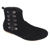 harga Sepatu Boots Catenzo AK 017 Hitam Wanita - Boot Cewek Sintetis Tokopedia.com