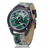 Jual Curren 8183 Army Camo Fabric Watch (Jam Tangan Tentara Kanvas) Murah
