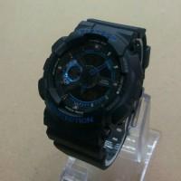 jam tangan casio G-shock Ga-110 black blue kw super