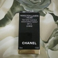 Chanel Perfection Lumiere Velvet 20 Beige