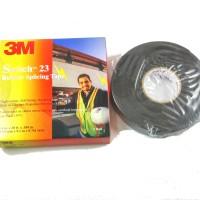 3M Scotch 23 Rubber Splicing Tape - Isolasi Listrik , 3/4 in x 30 ft