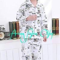 harga pp piyama ank/baju tidur ank ultraman+sandal Tokopedia.com