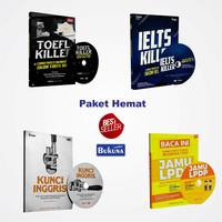 harga Paket Sakti 4 buku ( KUNCI INGGRIS +IELTS+TOEFL KILLER + Jamu LPDP) Tokopedia.com