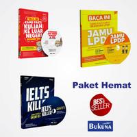 harga Paket Sakti 3 buku ( JKLN + IELTS KILLER  + JAMU LPDP ) Hemat ! Tokopedia.com