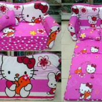 sofa bed anak hello kitty