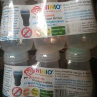 Botol Asi Plastik Ninio BPA Free ( 1 pak isi 3 botol)